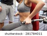 sport  fitness  teamwork ... | Shutterstock . vector #281784011