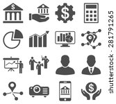 banking business and... | Shutterstock .eps vector #281791265