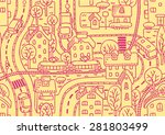 seamless vector background... | Shutterstock .eps vector #281803499