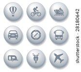 gray ball set 20 | Shutterstock .eps vector #28180642