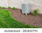 air conditioner condenser unit... | Shutterstock . vector #281832791