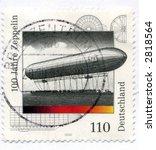 Vintage World Postage Stamp Ephemera germany(editorial) - stock photo