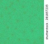 leaves pattern | Shutterstock .eps vector #281857235