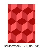 polygon mosaic background... | Shutterstock .eps vector #281862734