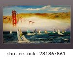 Golden Gate Bridge Regatta. Sa...