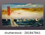 Golden Gate Bridge Regatta. Sa...