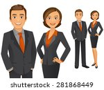 business team | Shutterstock .eps vector #281868449