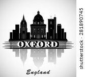 modern oxford city skyline