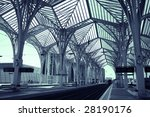 modern train and subway station ...   Shutterstock . vector #28190176