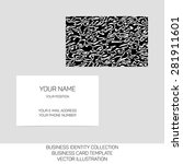business identity collection ... | Shutterstock .eps vector #281911601