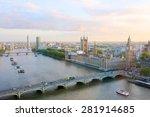 beautiful panoramic scenic view ...   Shutterstock . vector #281914685