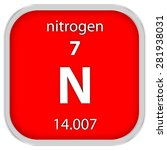 nitrogen material on the...   Shutterstock . vector #281938031