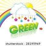 vector green concept