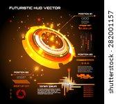 sci fi futuristic user...   Shutterstock .eps vector #282001157