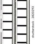 two film strips  35mm  sound    ... | Shutterstock . vector #2820293