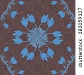 Art Nouveau Wallpaper Pattern...