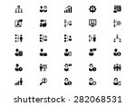 human resource vector icons 1 | Shutterstock .eps vector #282068531