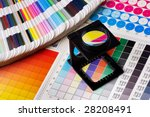 press color management   print... | Shutterstock . vector #28208491
