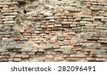 old brick wall texture... | Shutterstock . vector #282096491