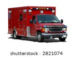 Ambulance Isolated On A White...