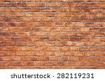 background of brick wall texture | Shutterstock . vector #282119231