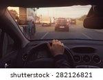 traffic jam | Shutterstock . vector #282126821