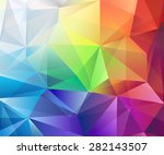 abstract colorful vector... | Shutterstock .eps vector #282143507