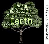 concept or conceptual green... | Shutterstock . vector #282151511