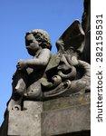 franz hausmann monument in horn | Shutterstock . vector #282158531