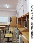 computer class at school | Shutterstock . vector #282175097