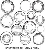 abstract grunge rubber stamp... | Shutterstock .eps vector #28217557