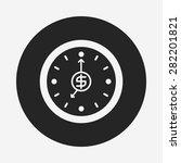 financial money concept icon   Shutterstock .eps vector #282201821