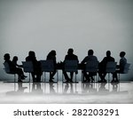 business people conference... | Shutterstock . vector #282203291