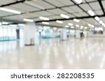 blurred image of shopping mall  | Shutterstock . vector #282208535