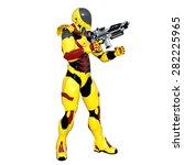 robot | Shutterstock . vector #282225965