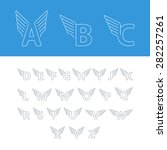 Alphabet Letters With Wings....