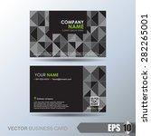 business card set | Shutterstock .eps vector #282265001