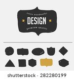 hand drawn  inked hipster... | Shutterstock .eps vector #282280199
