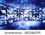 data management technology | Shutterstock . vector #282286295