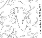seamless floral vector pattern  ... | Shutterstock .eps vector #282296825