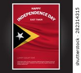 east timor independence day... | Shutterstock .eps vector #282314315