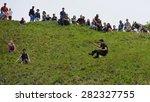 brockworth   may 25  revellers... | Shutterstock . vector #282327755