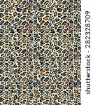 leopard skin background | Shutterstock . vector #282328709