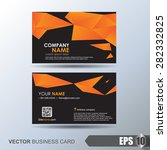 business card set | Shutterstock .eps vector #282332825