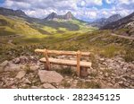 Bench Look Out On Mountain Of...