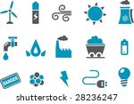 vector icons pack   blue series ... | Shutterstock .eps vector #28236247