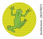 animal frog cartoon theme... | Shutterstock .eps vector #282378071