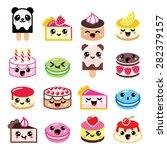Cute Kawaii Dessert   Cake ...