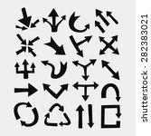 arrows | Shutterstock .eps vector #282383021