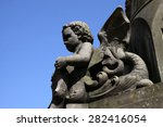 franz hausmann monument in horn | Shutterstock . vector #282416054
